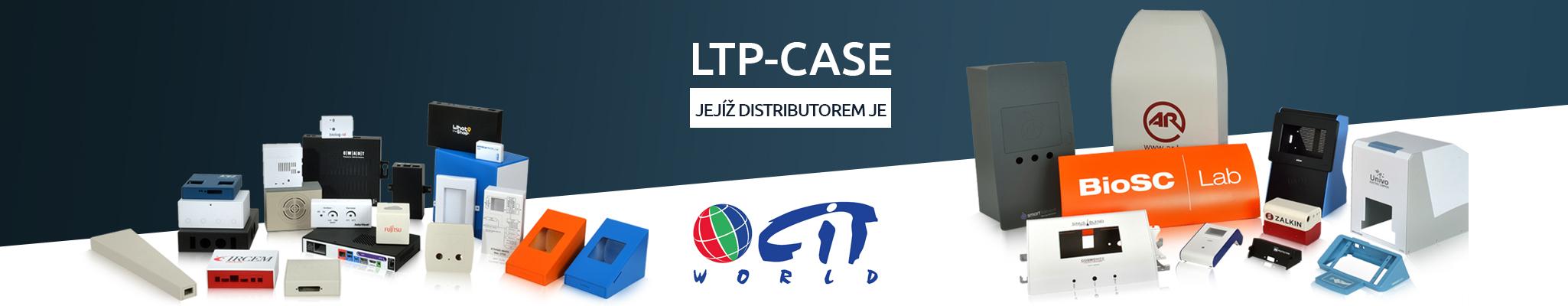 LTP Plastový panel s vyfrézovanou drážkou